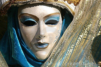 Carnevale Mask Close Up
