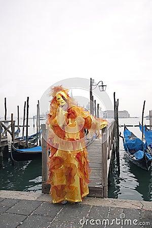 Carnivale Mask in the Venice Italy