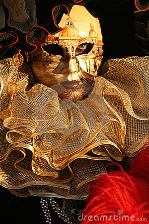 Carnevale Masquerade Close Up