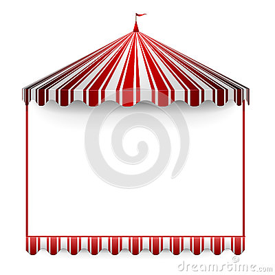 Free Carnivals Tent Frame Royalty Free Stock Image - 29026376