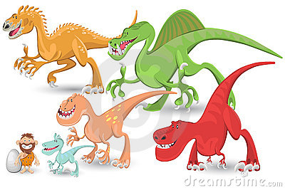 Carnivorous Dinosaurs Collection Set