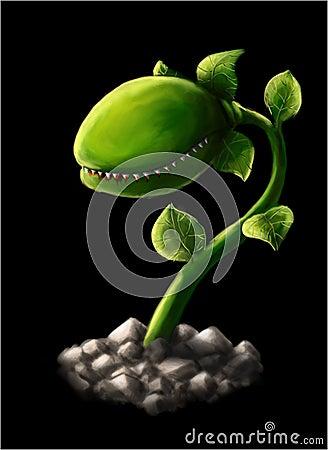 Хищное растение