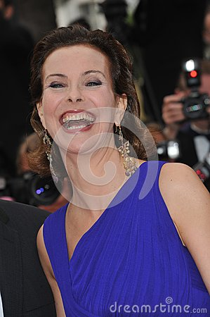 Carole Bouquet Editorial Stock Photo
