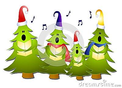 вал петь рождества carolers