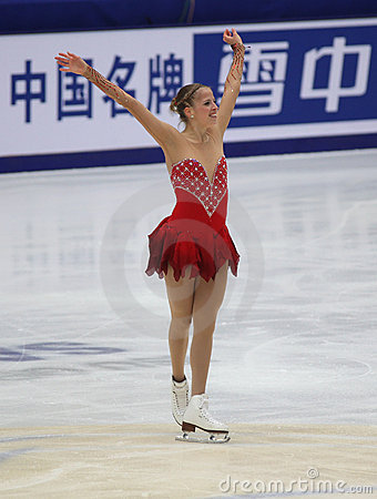 Carolina Kostner (ITA) Editorial Photo