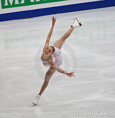 Carolina Kostner of Italy Editorial Photo