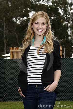 Caroline Sunshine, Elizabeth Glaser Editorial Photo