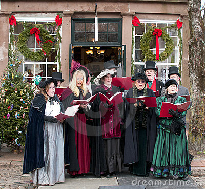 Caroling Editorial Photography