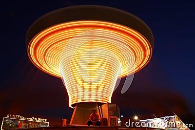 Carousel Editorial Photo