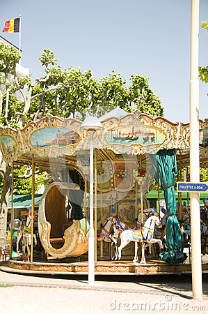Carousel  Cannes France French Riviera