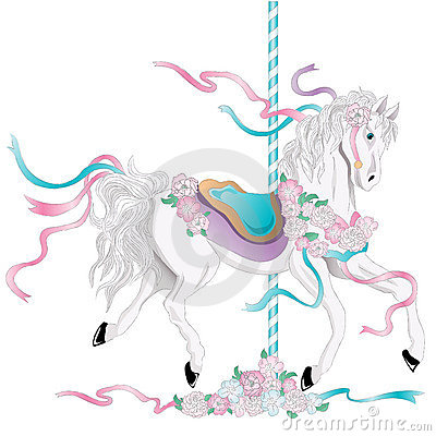 Free Carousel Horse Stock Photo - 11108110