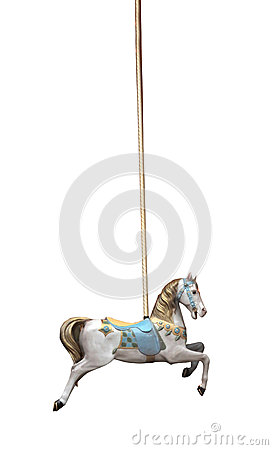 Free Carousel Horse Royalty Free Stock Image - 28469266