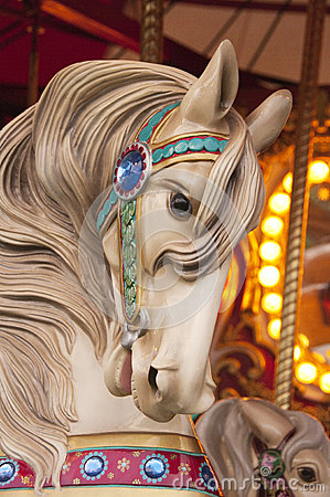 Free Carousel Horse Stock Photography - 32689412