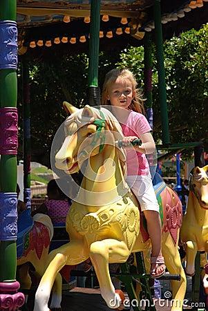 Free Carousel Kid Royalty Free Stock Image - 3949876