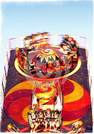 Free Carousel - Over The Top Royalty Free Stock Photo - 27808455