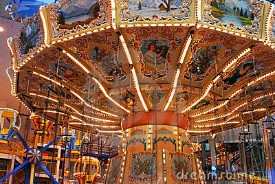 Carousel in west edmonton mall
