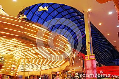 Carousel in west edmonton mall