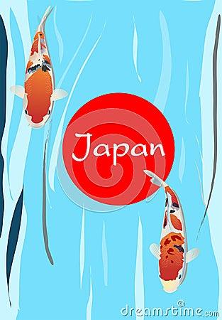 Carp fish Japan Symbolic