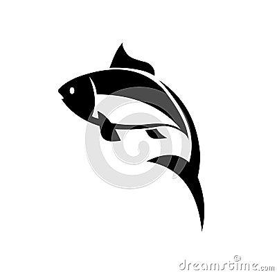 Free Carp Fish Vector Icon.Vector Fish Icon Royalty Free Stock Image - 114534686
