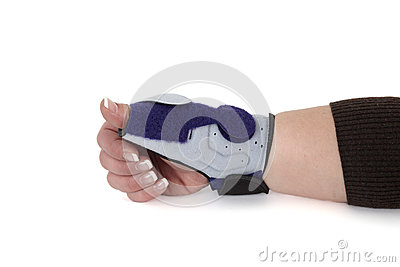 how to wear carpal tunnel syndrome brace