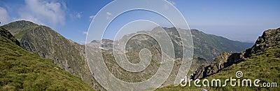 Carpathian Mountains - Mountain Panorama