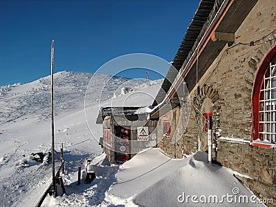 Carpathian shelter: Dochia
