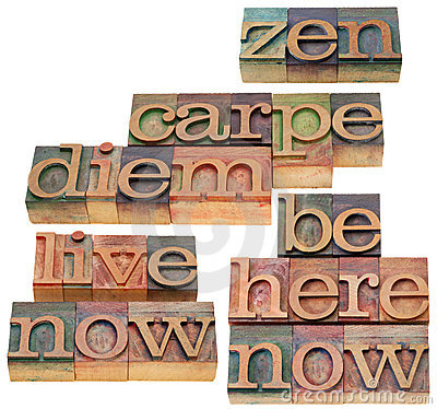 Carpe DIem and zen