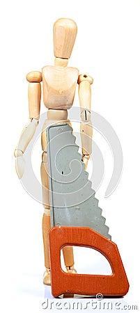 Carpenter manequin