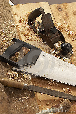 Free Carpenter S Tools Stock Image - 1308981