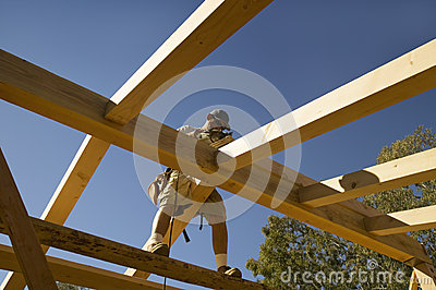Carpenter sands central beam Editorial Stock Photo