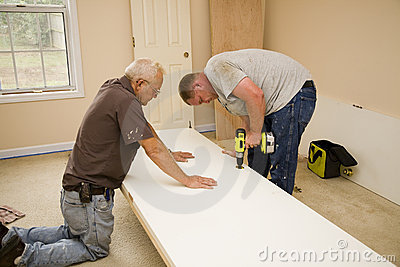 Carpenters working