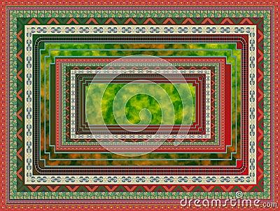 Carpet pattern.