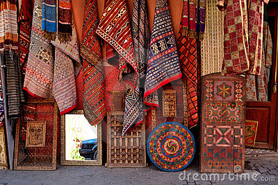 Carpet and rug store
