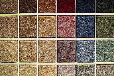 Carpet Samples Stock Images - Image: 24144834