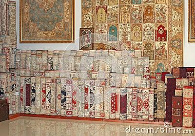 Carpet shop in Turkey