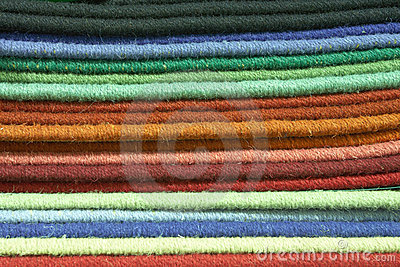 Carpet texture swatches and samples