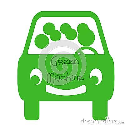Зеленая машина фото 1
