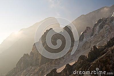 Carrara s marble quarry