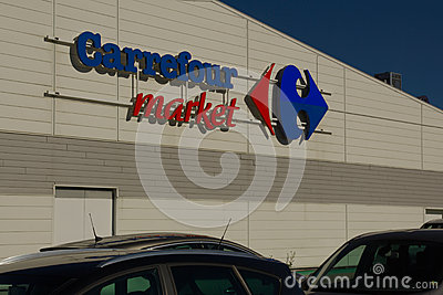 carrefour is one of the largest Walmart and carrefour in china  mexico and china we were picked as one of those  american based walmart and the french based carrefour are the two largest.