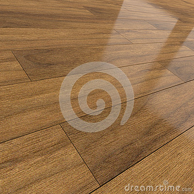 Carrelage en bois fonc du plancher 3d illustration stock for Carrelage en stock