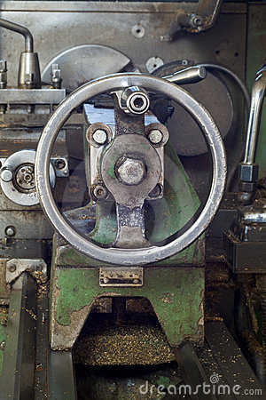 Carriage of lathe