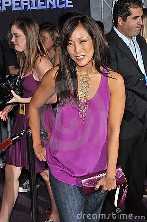 Carrie Ann Inaba, Jonas Brothers Editorial Stock Photo