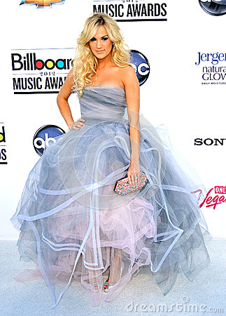 Carrie Underwood arrives at the 2012 Billboard Awards Editorial Photography