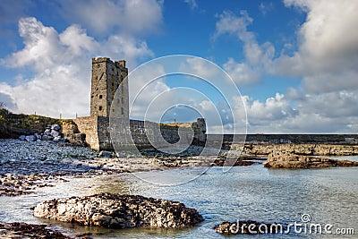 Carrigaholt Castle in Ireland.