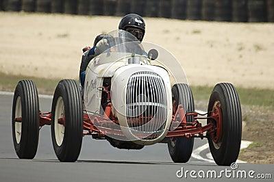 Carro de competência do vintage Imagem Editorial