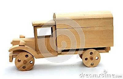 Carro de madera del juguete imagenes de archivo imagen - Cosas de madera para hacer ...