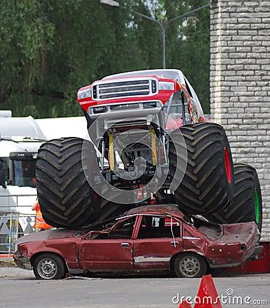 Carro de monstruo