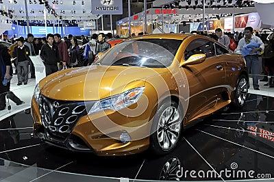 Carro desportivo da estrela de Geely Foto de Stock Editorial