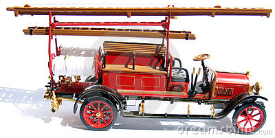 Carro dos bombeiros históricos