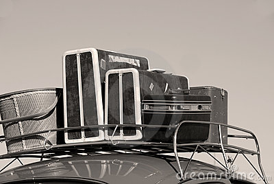 Carro e bagagem